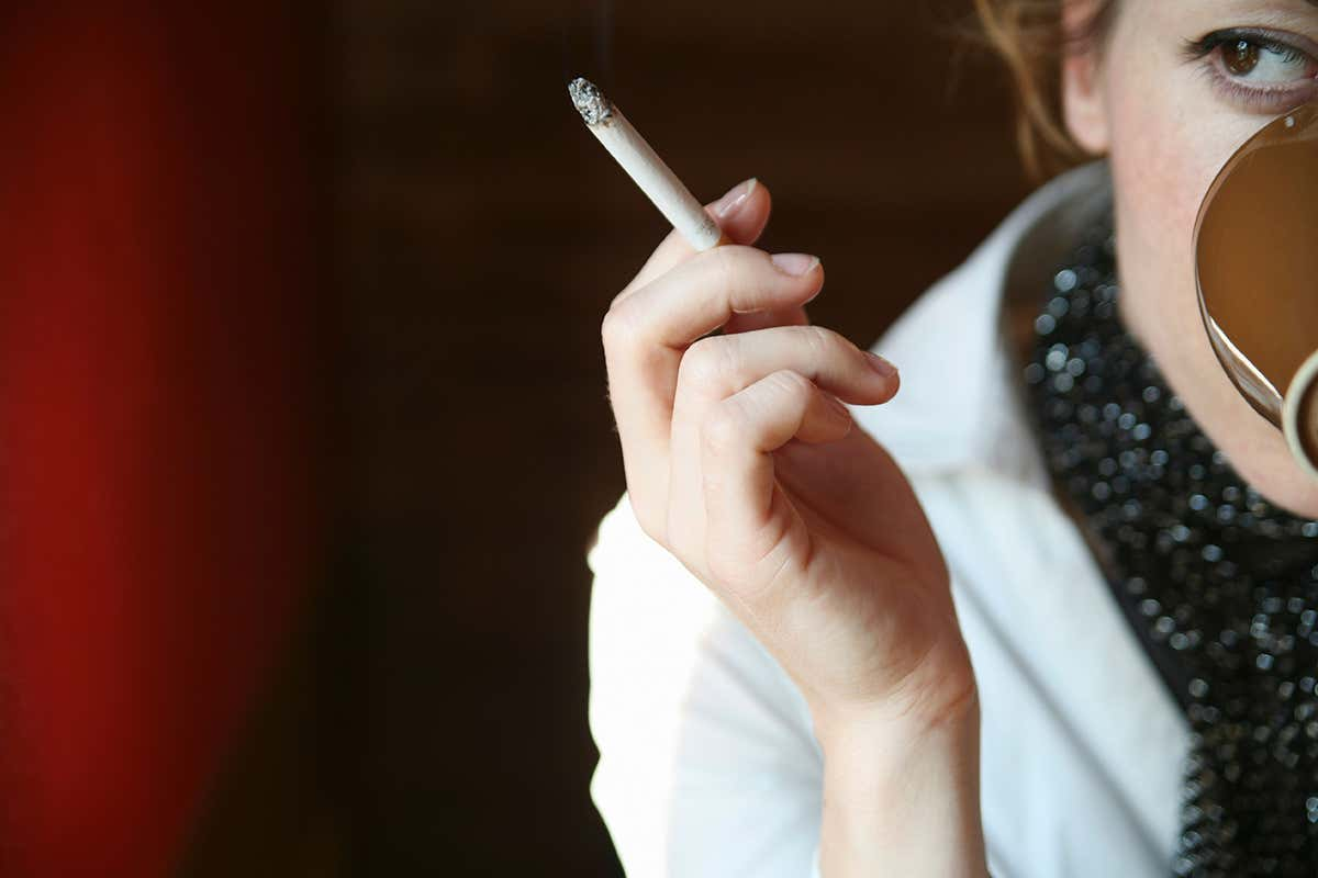Enter Into the habit of smoking of Coffee Consuming
